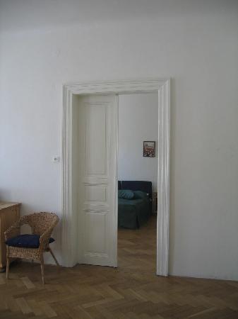 Opatovicka Apartments: Doorway to bedroom