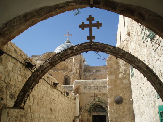 Jerusalén, Israel: St. Anthony Coptic Monastery