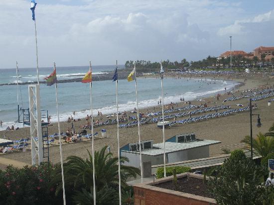 Sunset picture of h10 conquistador playa de las - The conquistador tenerife ...