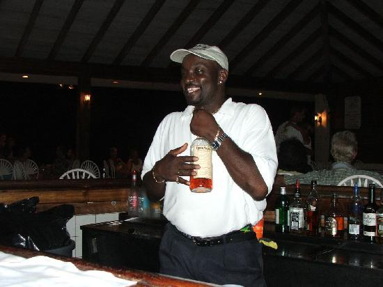 Antilles At Sapphire Beach Resort: Best Bartender Ever