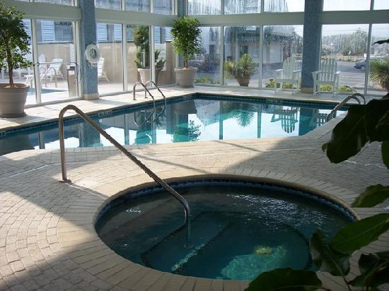 Shutters on the Banks: Indoor Pool and Hot Tub
