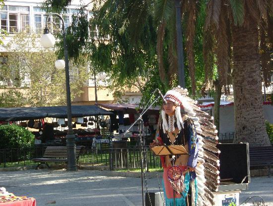 Hotel Illa d´Or: Wednesday market in Puerto Pollensa