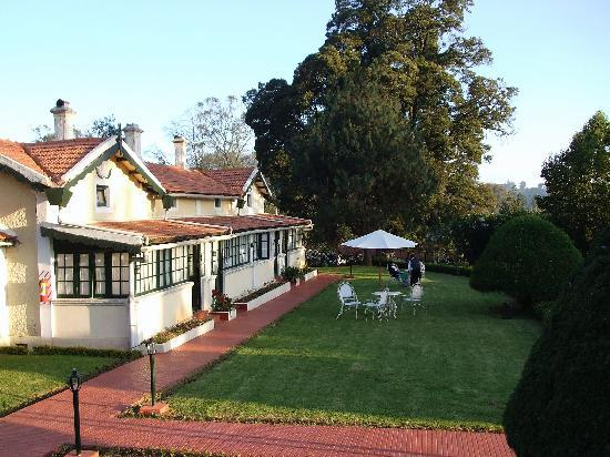 Taj Savoy Hotel, Ooty: one section of the hotel