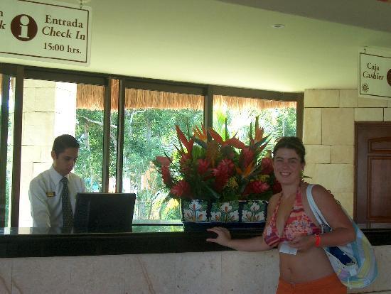 Grand Bahia Principe Coba: La réception