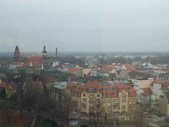 Cottbus, Allemagne : View from hotel window