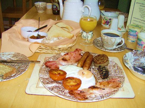 Kilburn House Farmhouse Bed and Breakfast: Full Irish Breakfast