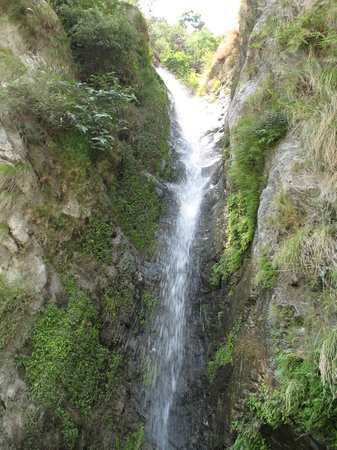 Dalhousie, Indien: The waterfall