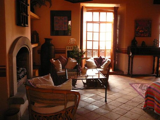 Hotel Casa Encantada: a part of our living area in suite