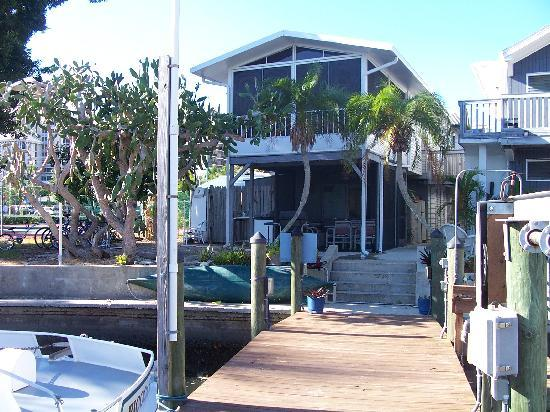 Dolphin Inn: Property from the dock