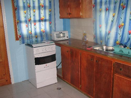 Suite Pepper: the kitchenette