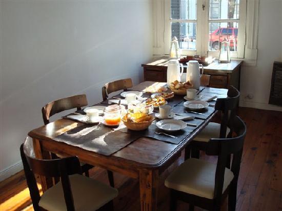 Gorriti 4290 B&B : breakfast