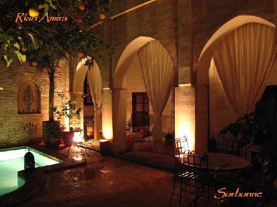 Riad Amira : la patio