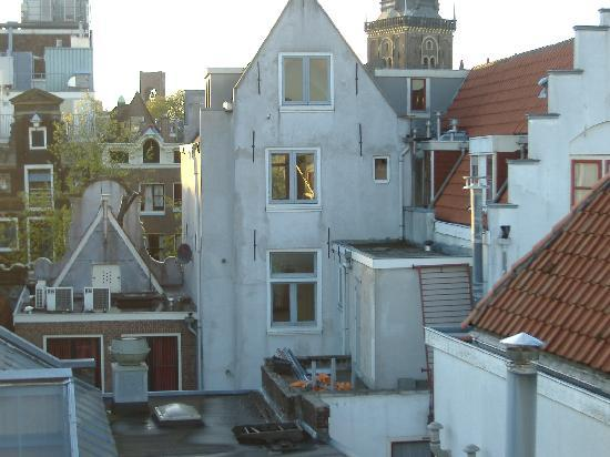 The Monk Amsterdam Apartments: View directly in front of rooftop terrace
