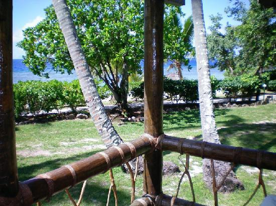 Mana Island Resort : View from Balcony