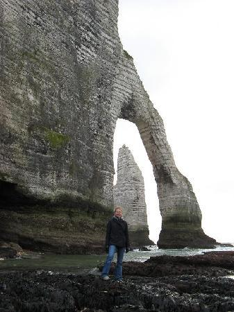 Etretat, Fransa: the natural arch up close and personal