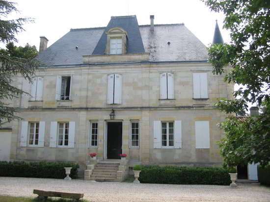 Chateau du Foulon: Front view of the chateau