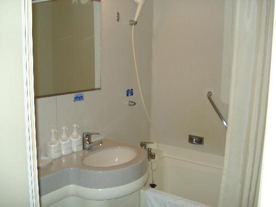 Hotel Sunroute Sopra Kobe: bathroom