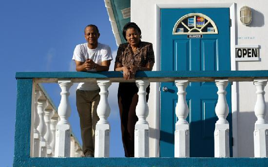 Tropical Dreams Rentals: the owners, sammy and rose sands