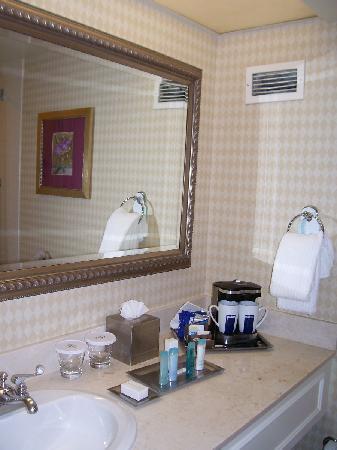Hilton Woodland Hills/Los Angeles: bathroom vanity