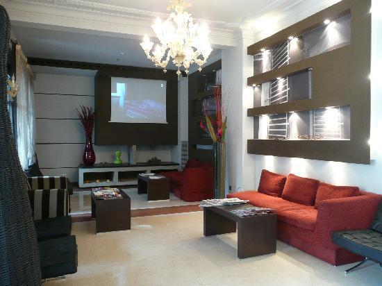 Hotel Sant Roc: vestíbulo
