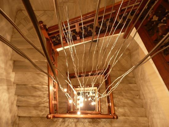 Hotel Sant Roc: escaleras
