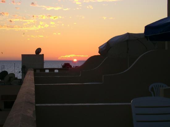 Marina Del Rey Beach Club: Patio view