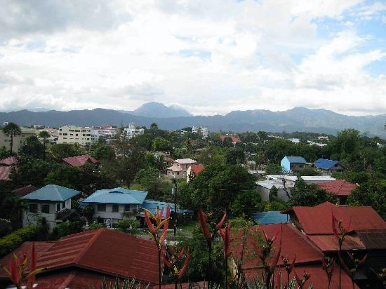 Bangued, Filipinas: View from the terrace