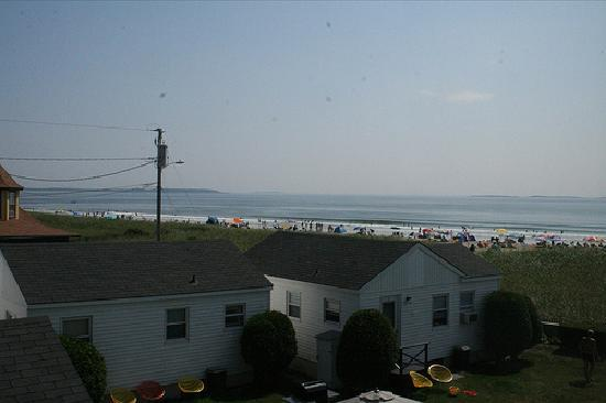 The Gull Motel, Inn and Cottages: View from our room