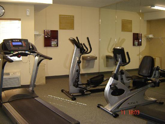 Candlewood Suites Augusta: the gym