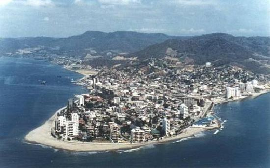 Bahia de Caraquez, Ekvador: Great view of Bahia