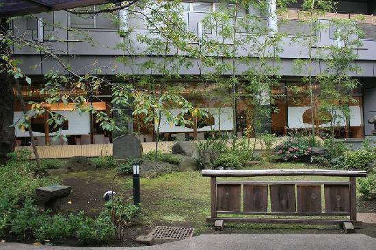 Suigetsu Hotel Ohgaisou : The restaurant