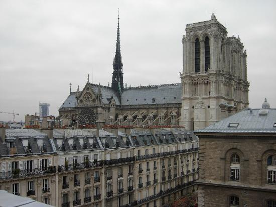 View From Room Picture Of Hospitel Hotel Dieu Paris