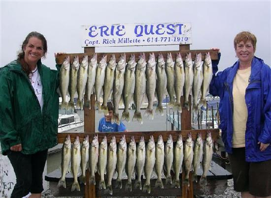 The Anchor and Wheel Inn: Walleye fishing Pelee Island Erie Quest Charters
