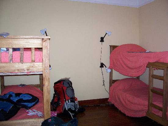Extremo Sur Hostel: Shared room
