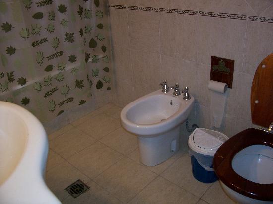 Extremo Sur Hostel: Ground floor bathromm