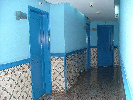 Hotel Lisboa Tejo: I corridoi