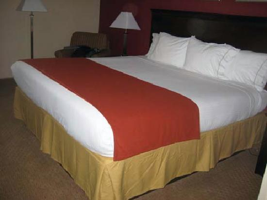 Holiday Inn Express Rochester - Greece: bed