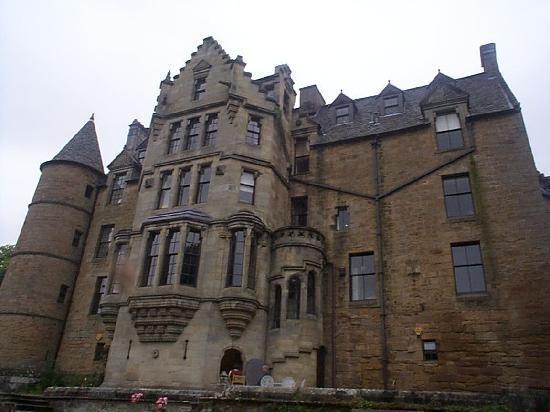 Dalzell House: Terrace