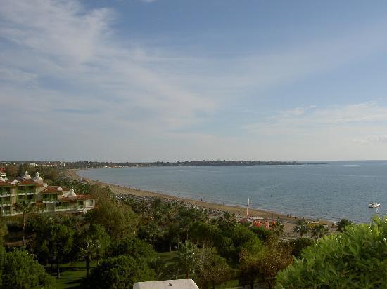 Melas Resort Hotel: View of Side town