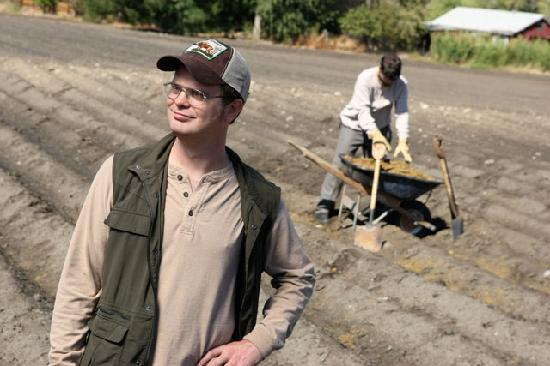 Schrute Farms: The owners Dwight and Mose