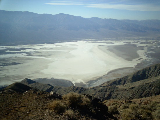 Death Valley Junction, Kalifornien: Dante's view