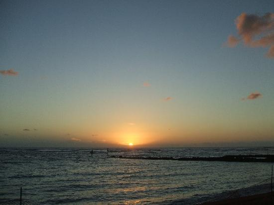 Pono Kai Resort : Another sunrise from Patio