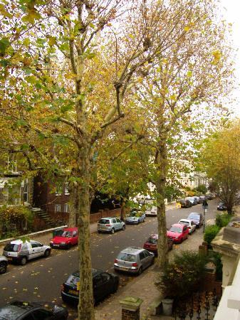 Dalmacia Hotel: View from the window