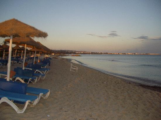 Hammamet Resort: plage de l'hôtel