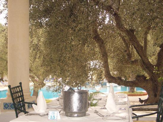Hammamet Resort: terrasse du resto