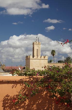 Riad Hayati: View from terrace