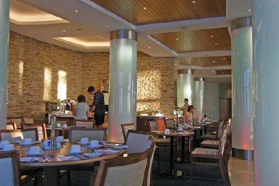 Breakfast hall, excellent