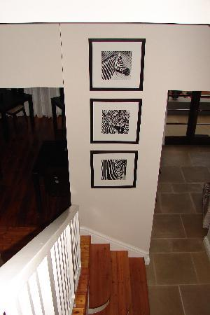 Derwent House Boutique Hotel: Derwent House Stairway