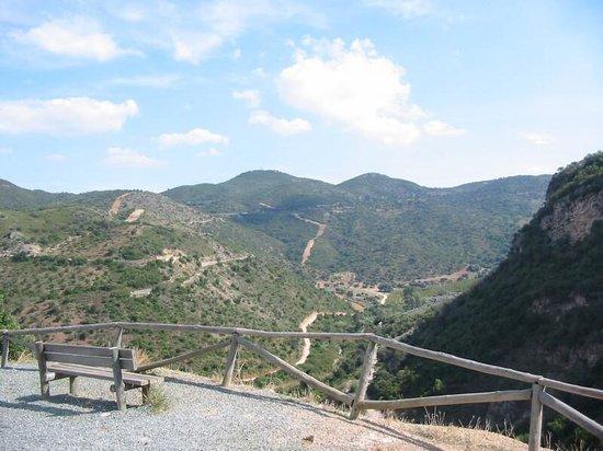 A view near Estacion de Coripe