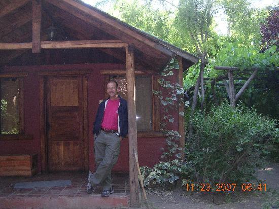 Cascada de las Animas: Cabin
